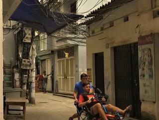 Mise en jambe au Vietnam