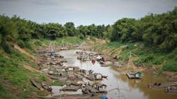 Le port des pêcheurs d'un village
