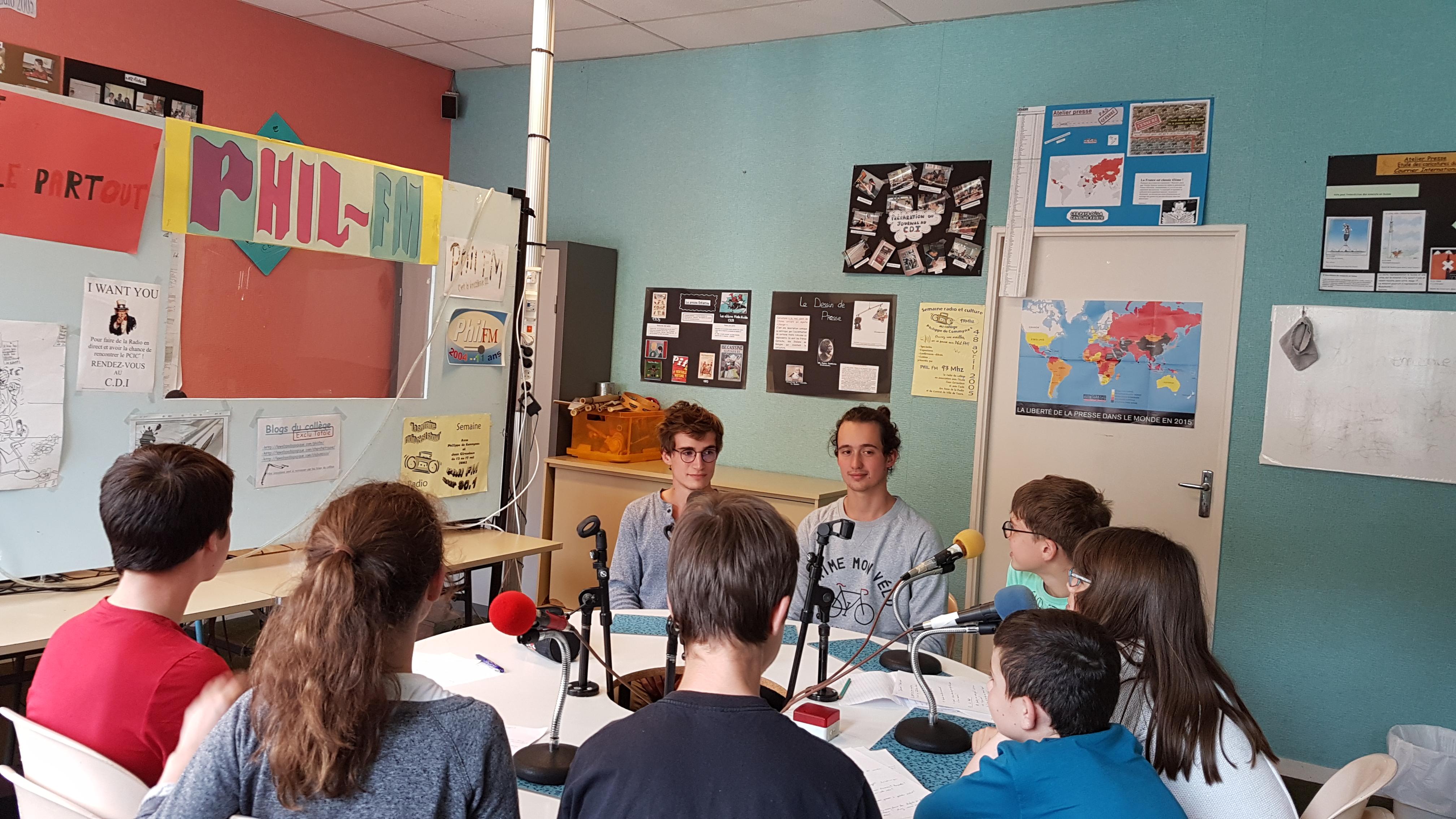 Radio du college