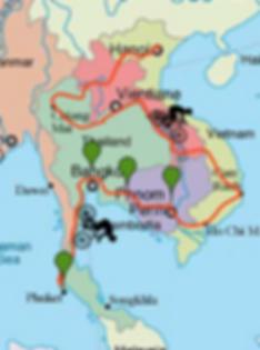Itinéraire V'asie roule