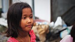 Une enfant birmane