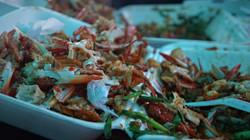 Le chantier de crabe