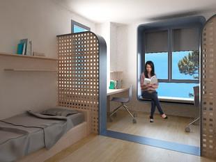 Architectural Competition Entry- Ingle Nest Dormitories Anatolia College, Thessaloniki
