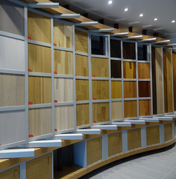 wooden products showroom