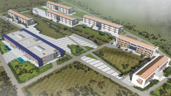 Environmental study for the Police education centre building  in Amygdaleza