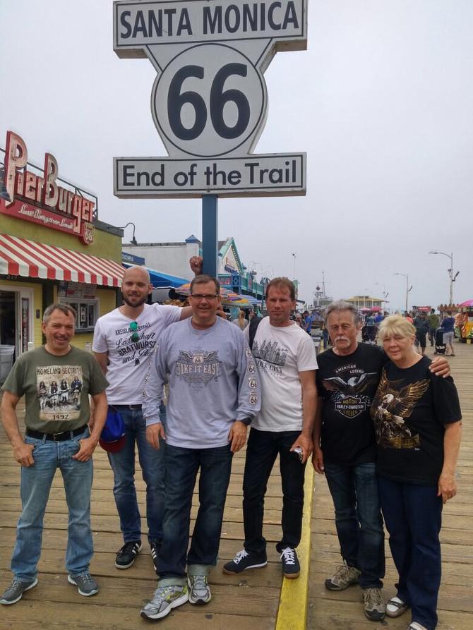 Ende der Route 66...