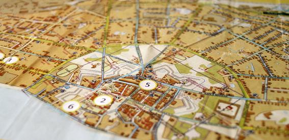 Карта Ростова Великого