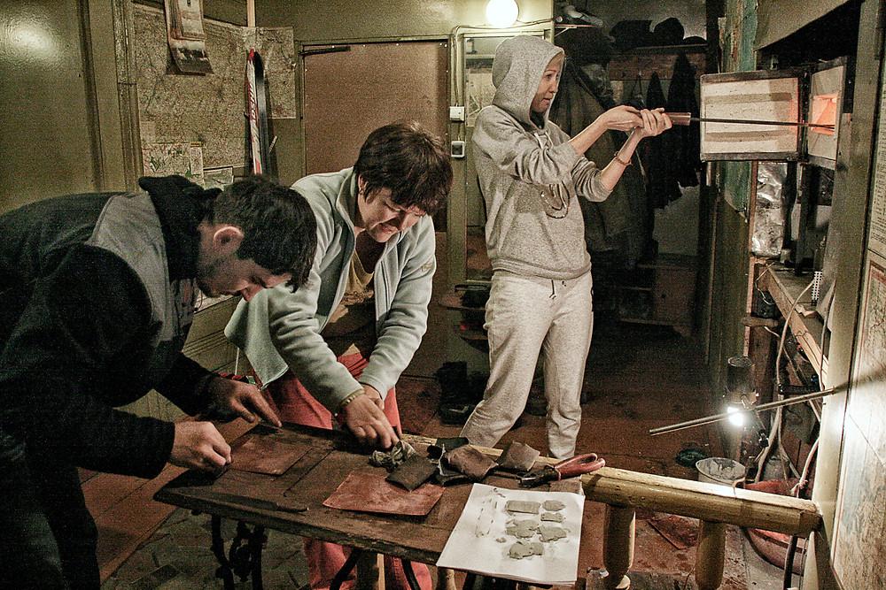 Мастер-класс по горячей эмали в Ростове Великом
