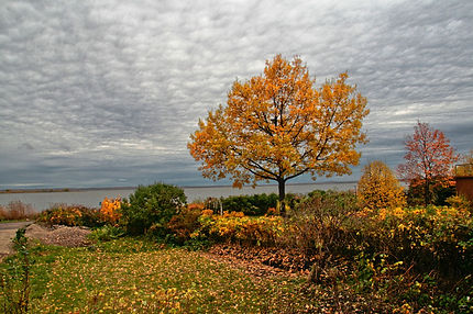 "Вид на озеро Неро из гостевого дома ""Хорс"""