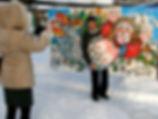 """Русалочка. Арт-проект в Ростове Великом. Выставка тантамаресок """"Русский Вертоград"""""""