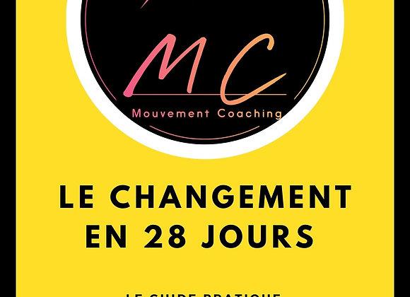 Axe développement personnel Le changement 28 jours