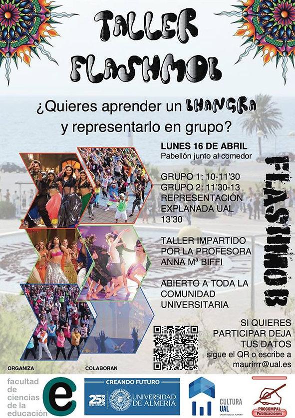 annamariabiffi | Taller Flashmob Universidad de Almería