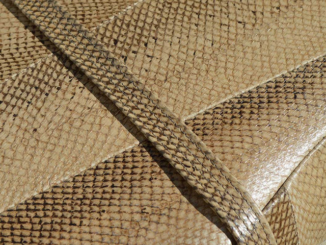 Lachsleder Detail
