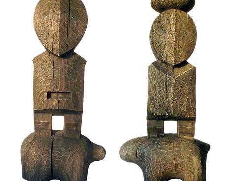 Skulpturenpaar