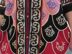 Detail Hochzeitskleid