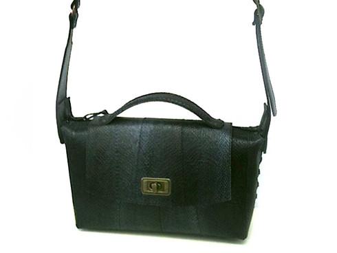 Schwarze Lachstasche