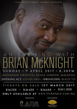 Brian McKnight Bakal Kembali Ke Malaysia April 2017