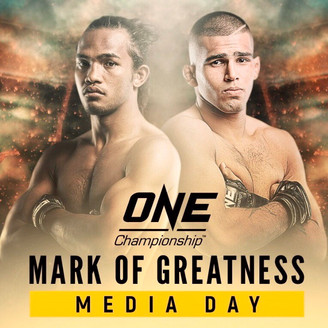 AGILAN THANI AND MUHAMMAD AIMAN ONE: MARK OF GREATNESS MEDIA DAY