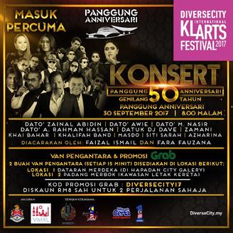 Konsert Masuk Percuma Sempena Sambutan 50 Tahun Panggung Anniversari Kuala Lumpur
