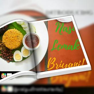 Malgudi Sajikan Menu Nasi Lemak Briyani Khas Sempena Hari Merdeka