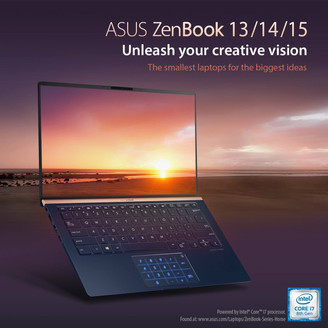ASUS ANNOUNCES BRAND NEW 2019 ZENBOOK SERIES