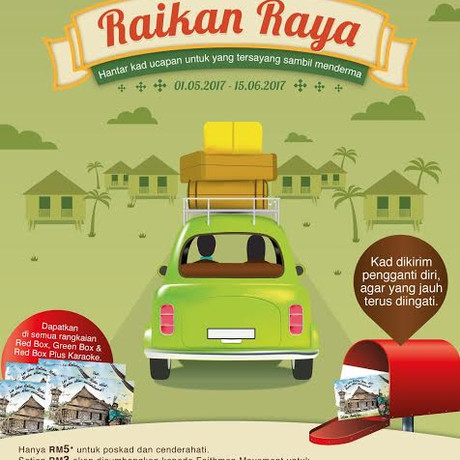 Faizal Tahir & Red Box Jayakan Kempen Amal