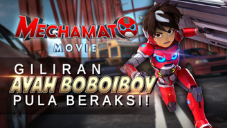 GILIRAN AYAH BOBOIBOY PULA BERAKSI!