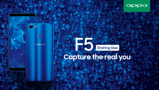 Explore the Color of Romance with the OPPO F5 Dashing Blue Edition