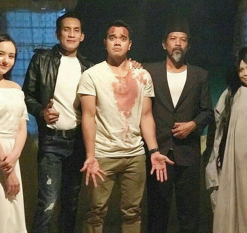 Barisan pelakon The Hantus - Hannah Delisha, Faizal Hussein, Alif Satar, Namron dan Khatijah Tan (2)_preview