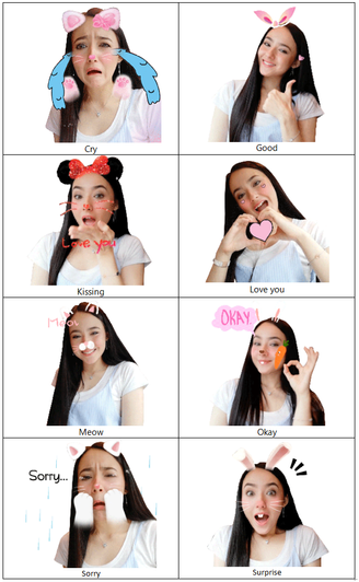 HUAWEI LAUNCHES NEW COLLECTION OF GIF STICKERS FEATURING HANNAH DELISHA