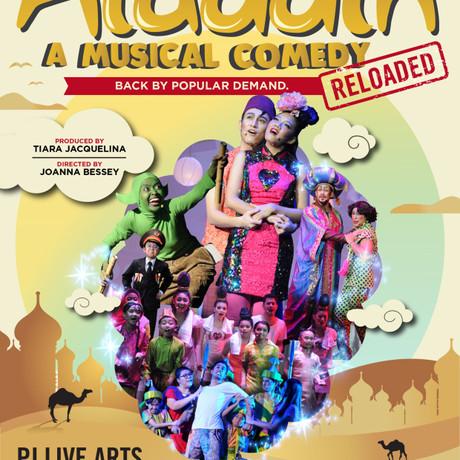 Rebiu : Aladdin - A Musical Comedy Reloaded