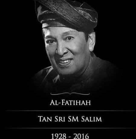 Takziah: Tan Sri SM Salim Kembali Ke Rahmatullah