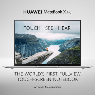WORLD'S FIRST FULLVIEW TOUCH SCREEN NOTEBOOK TO BE IN MALAYSIA SOON