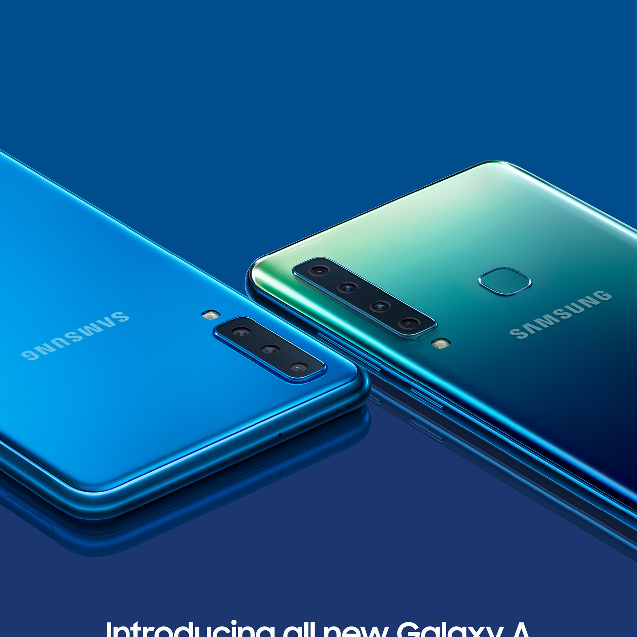 Galaxy A7 Blue & A9 Lemonade Blue - Copy
