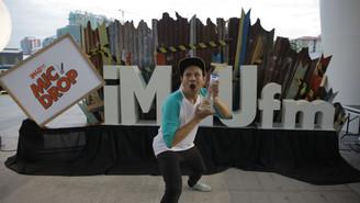SHAHKIMIN DINOBAT JUARA IM4U FM MIC DROP 2017