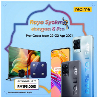 CAPTURE INFINITY WITH REALME'S FIRST 108MP & 50W SUPERDART CHARGE SMARTPHONE
