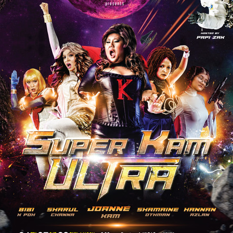THE COMEDY DIVAS ARE BACK!.. SUPER KAM ULTRA