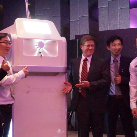 Dr. Ko Memperkenalkan Mesin Laser Jutaan Ringgit No. 1 di Malaysia