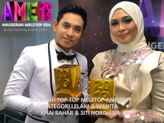 TOP TOP MELETOP AME2019 MILIK KHAI BAHAR & SITI NORDIANA
