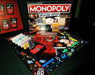 MONOPOLY CHEATERS EDITION MAKES MALAYSIAN DEBUT