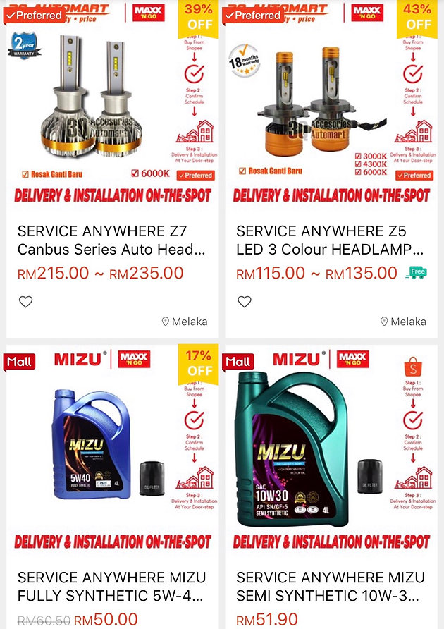 MAXX N' GO IS NOW ON SHOPEE!