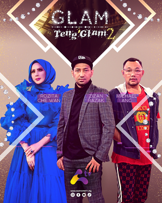 PROGRAM TV ALA 'FASHION POLICE' - GLAM KE TENG'GLAM DI SALURAN AWESOME TV MASUK MUSIM KEDUA