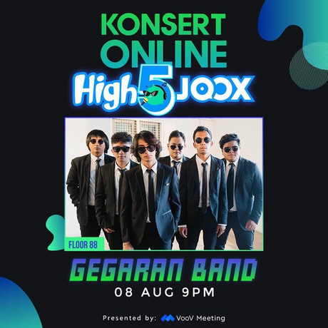 FLOOR 88 WILL BE ROCKING OUT THIS SATURDAY NIGHT IN HIGH5JOOX ONLINE CONCERT