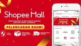 Shopee Malaysia Perkenal Shopee Mall