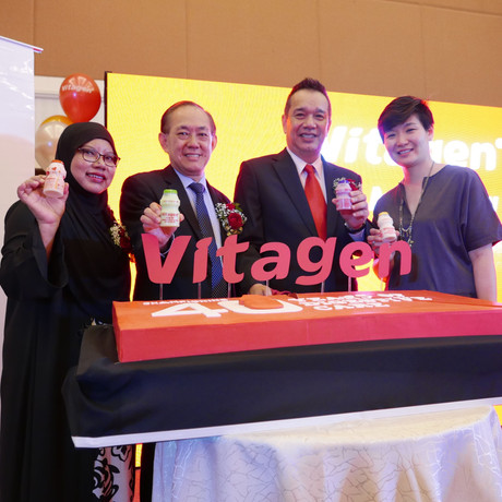 VITAGEN Sambut Ulangtahun ke-40 di Malaysia Dengan Kempen 'A Better Gut Begins With VITAGEN'