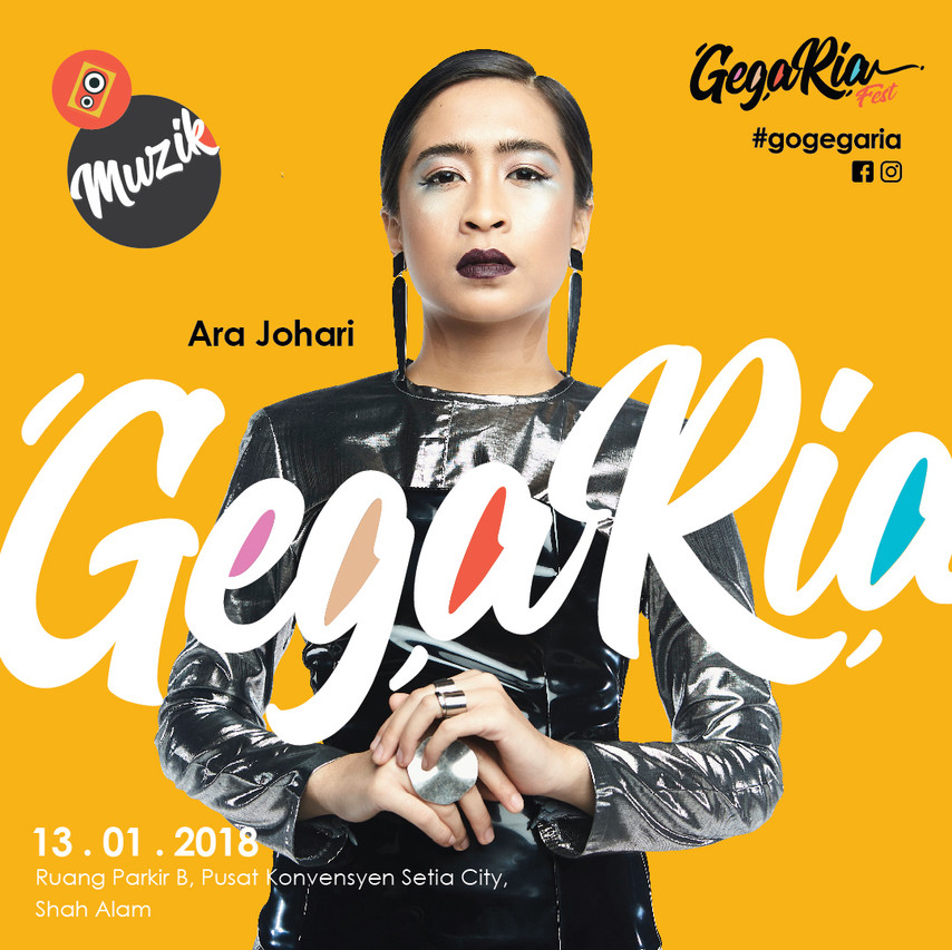 Gegaria Artist (Concert) AJL BM-01
