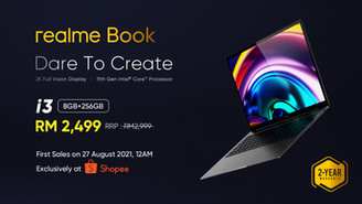 THE FIRST REALME BOOK OFFICIALLY LAUNCHED
