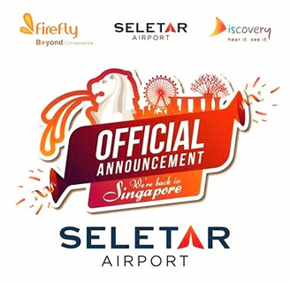 FY SERVICE IS BACK TO SELETAR AIRPORT, SINGAPORE