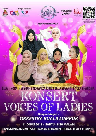 KL RHYTHM NITEZ : KONSERT 'VOICES OF LADIES' PERTEMUKAN 6 DIVA TERUNGGUL TANAH AIR