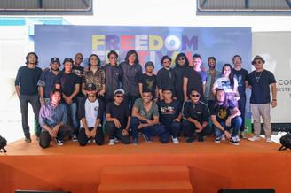 FREEDOM FESTIVAL RAIKAN PERPADUAN MASYARAKAT